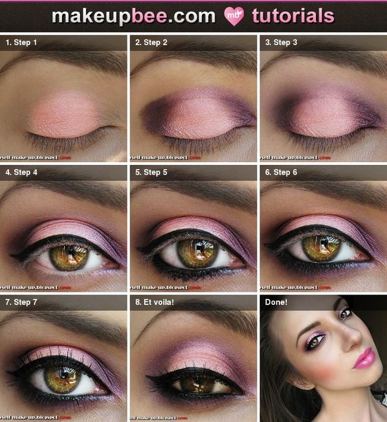 Bridal Eye Makeup Tutorial Step By Step : 263 Step by Step Tutorial for be Romantic be Bride ...