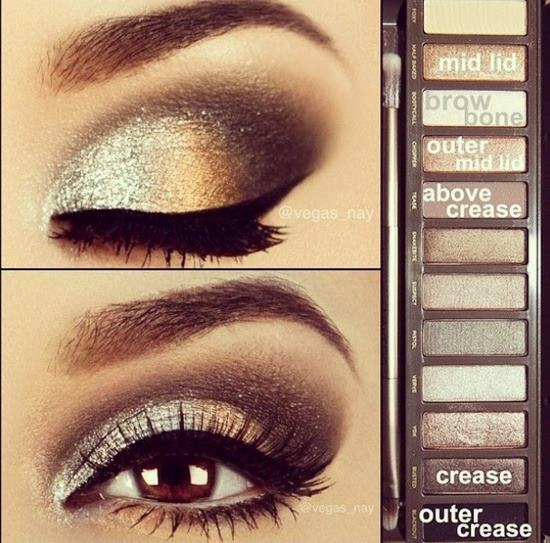 gorgeous eyes using the urban decay naked palette. Black Bedroom Furniture Sets. Home Design Ideas