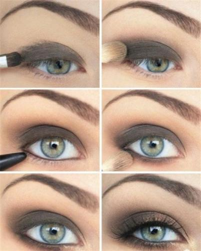 Amazing Black & Brown Smokey Eye Make Up Ideas, Looks & Images-s