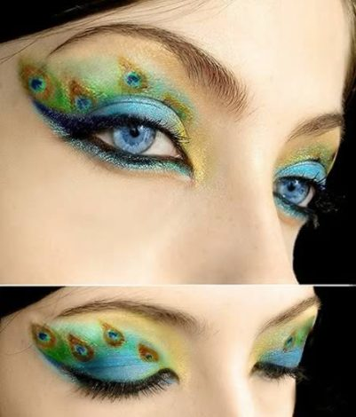 12 Most Extreme Fashion Makeup Ideas-s