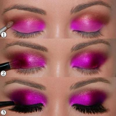 13 S ADVERTISEMENTS The Luuux Is Here To Share Hot Pink Eyeshadow Tutorial