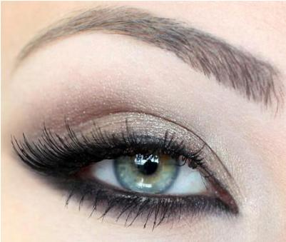 Natural Eye Makeup Picture Tutorail
