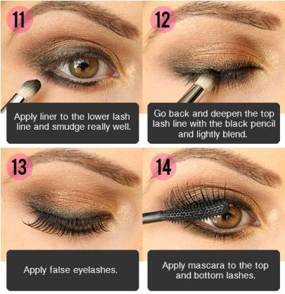 Step By Step Smokey Brown Eyeshadow Tutorial ...