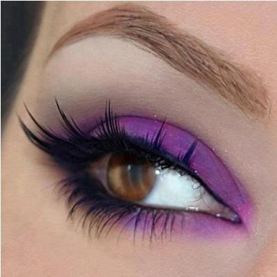 the best way to apply purple eyeshadow  amazingmakeups