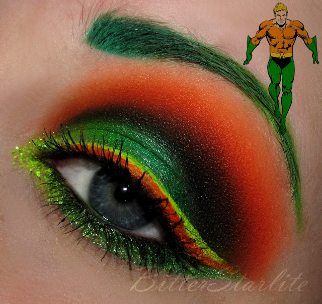 Batman and robin makeup