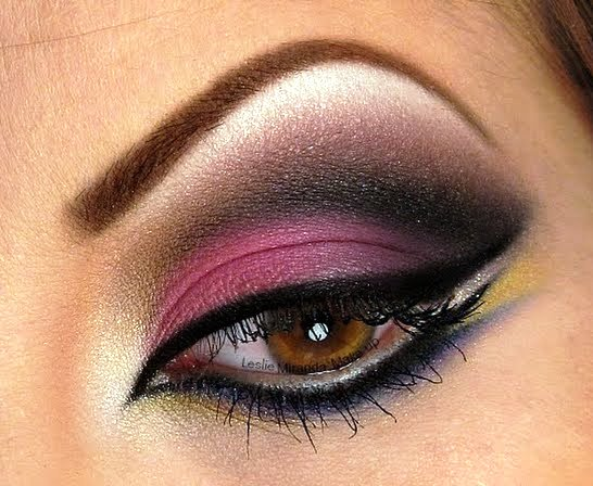 Arabic Eye Makeup With
