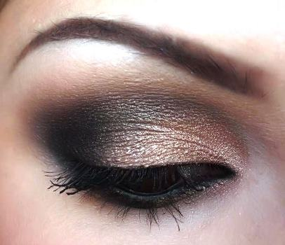 Black And Shimmer S Advers This Eye Makeup