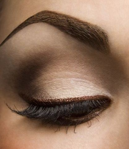stepstep smokey brown eyeshadow tutorial