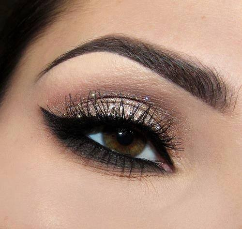 Eyes  tutorial Daily  eyes Brown Makeup AmazingMakeups.com for brown  makeup Tutorial For