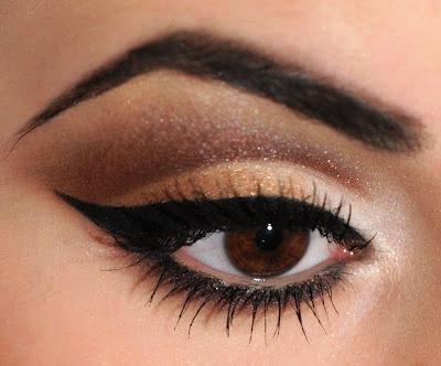 neutral cut crease eye shadow stepstep tutorial