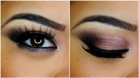 Soft Purple Celebrity Wedding Eye Makeup Amazingmakeups Com