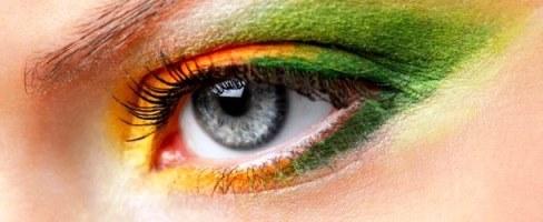 orange and green eyeshadow tutorial  amazingmakeups