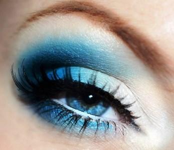 eye makeup idea for bright blue eyes  amazingmakeups
