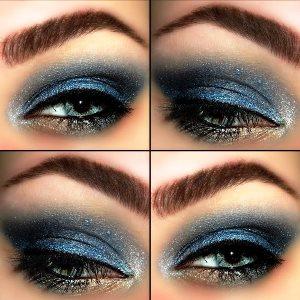 Blue Purple Butterfly Eyeshadow Tutorial Amazingmakeups Com