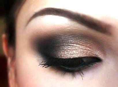 Neutral Smokey eyeshadow for Brown Eyes Tutorial | AmazingMakeups.com