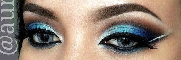ombre blue eyes idea amazingmakeupscom