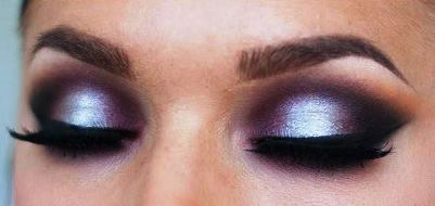 Soft Silver and Red Eyeshadow Tutorial | AmazingMakeups.com