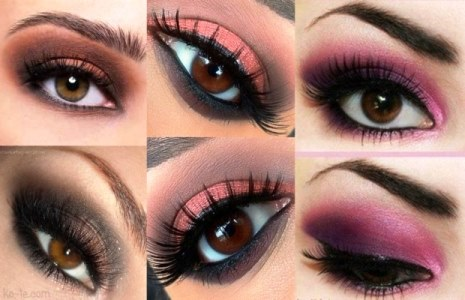 Daily Makeup and eyeshadow ideas for brown eyes