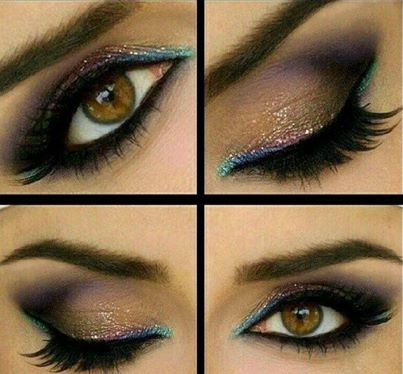 The best makeup tutori... Tan Skin Eye Makeup