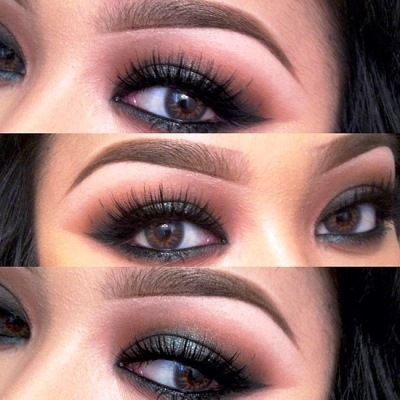 how to fill in the eyebrows  amazingmakeups