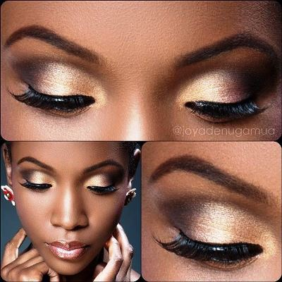 AmazingMakeups.com natural  skin  shadow dark is What skin for for eye tutorial perfect brown makeup