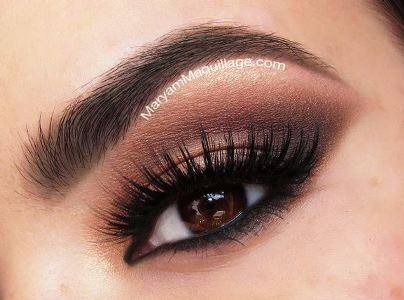 Soft Brown Smokey Eyeshadow Amazingmakeups Com