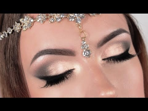 Natural Wedding Makeup For Brown Eyes : Bridal Makeup Smokey Eye Brown Eyes Looks Tips 2014 Images ...