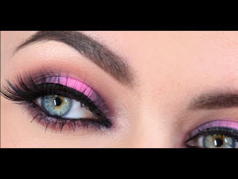 Pink And Brown Eyeshadow Combination Tutorial