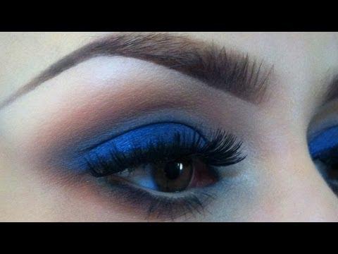 dark blue eyeshadow tutorial amazingmakeupscom
