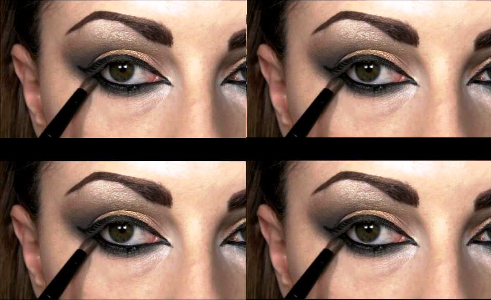 natural bronze beauty arabic eye makeup tutorial