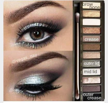 silver smokey eye naked 2 palette. Black Bedroom Furniture Sets. Home Design Ideas