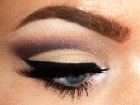 easiest cut crease eyeshadow tutorial  amazingmakeups