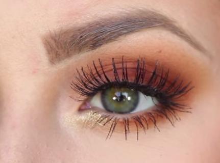 Burnt Orange Eyeshadow Tutorial Amazingmakeups Com