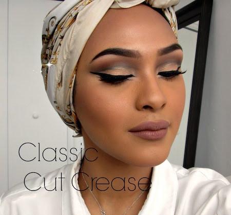 makeup tutorial classic cut crease  amazingmakeups