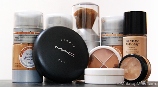 Different types of makeup foundation for Different foundations