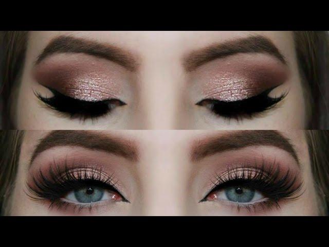 Rose Gold Smokey Eye Tutorial Amazingmakeups