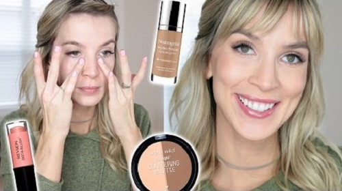All Drugstore No Makeup Makeup Tutorial