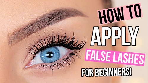 How to Apply False Eyelashes For Beginners
