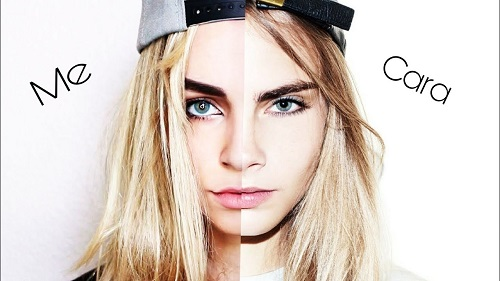 Cara Delevingne Transformation Makeup Tutorial