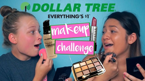 Dollar Tree Makeup Challenge