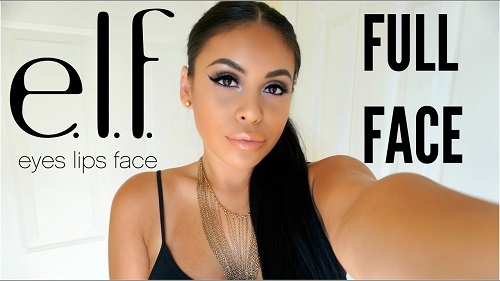 Full Face ELF Makeup Tutorial