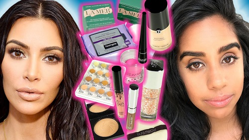 Kim Kardashian's Makeup Routine For A Week