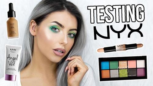Testing NYX Makeup