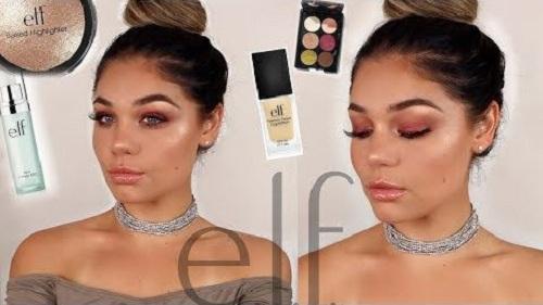 Full Face E.L.F. Makeup