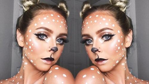 Halloween – Deer Makeup
