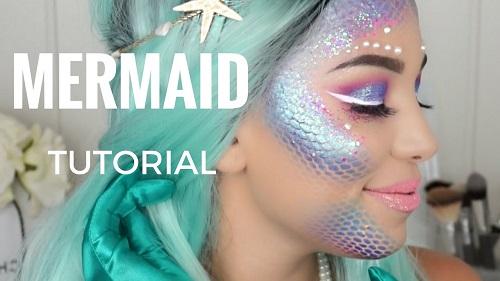 Halloween 2017 – Mermaid Makeup