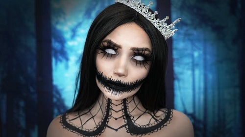 Halloween Makeup – Queen of The Dead