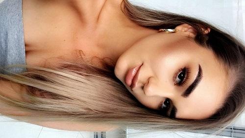 Soft Bronze Goddess Makeup