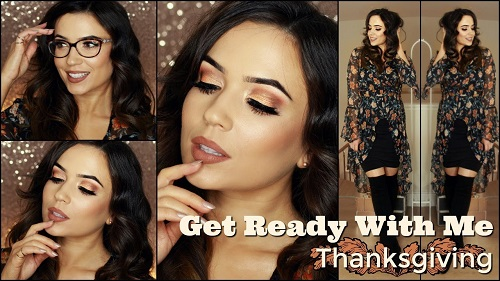 Thanksgiving Makeup Tutorial GRWM